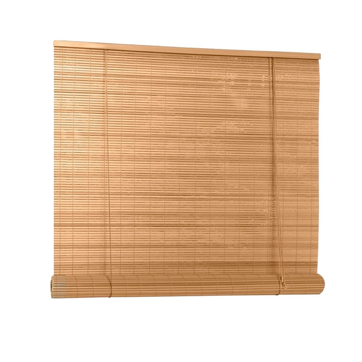 Lewis Hyman Roll-Up Window Blind 30-inches by 72-inches (Woodgrain)
