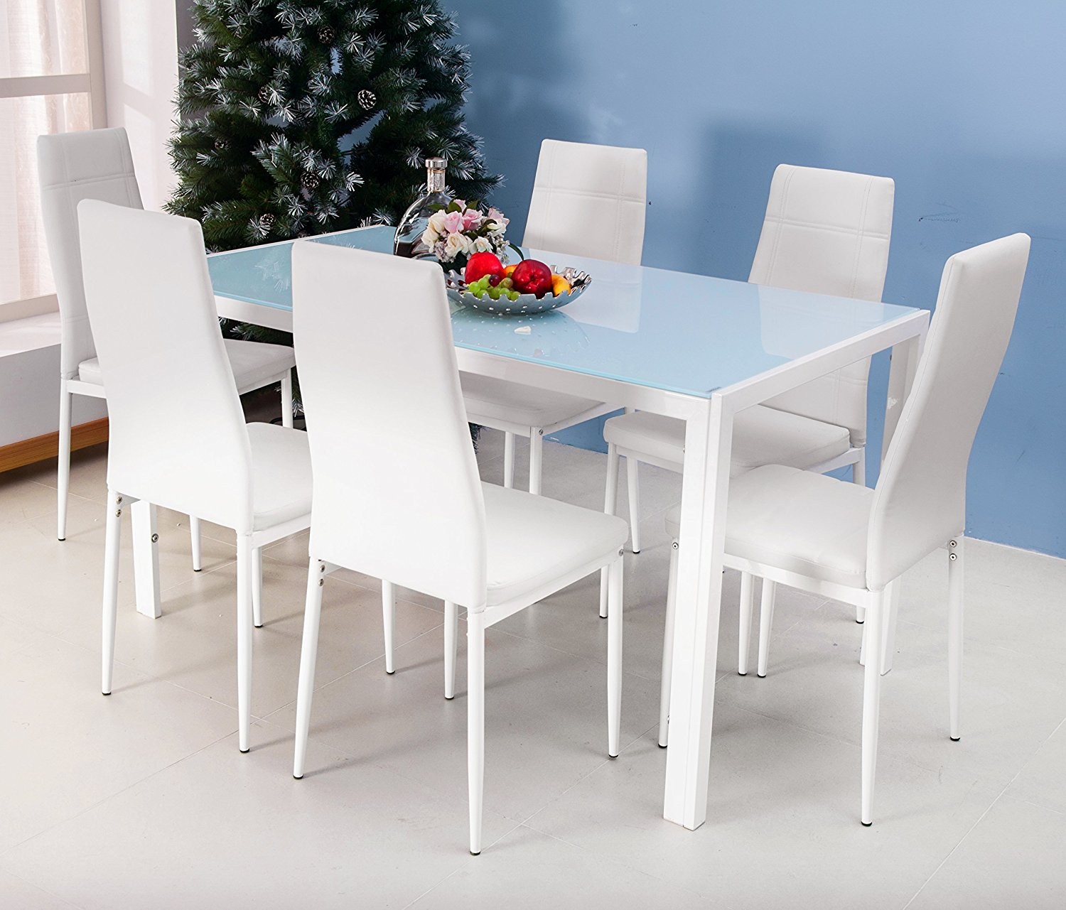 White Kitchen Dining Sets: Spend Your Precious Time In White Dining Table And Chairs