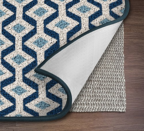 NINJA BRAND Non-Slip Area Rug Pad for Hard Floors, #1 Grip, Maximum Protection (8' x 10')