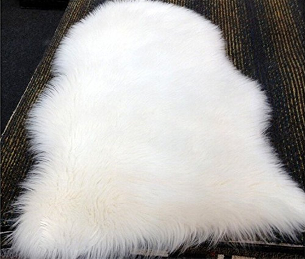 SCLM Genuine Sheepskin Rugs - Single (White)