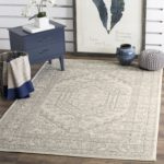 Safavieh Adirondack Collection ADR108B Ivory and Silver Oriental Vintage Area Rug (6