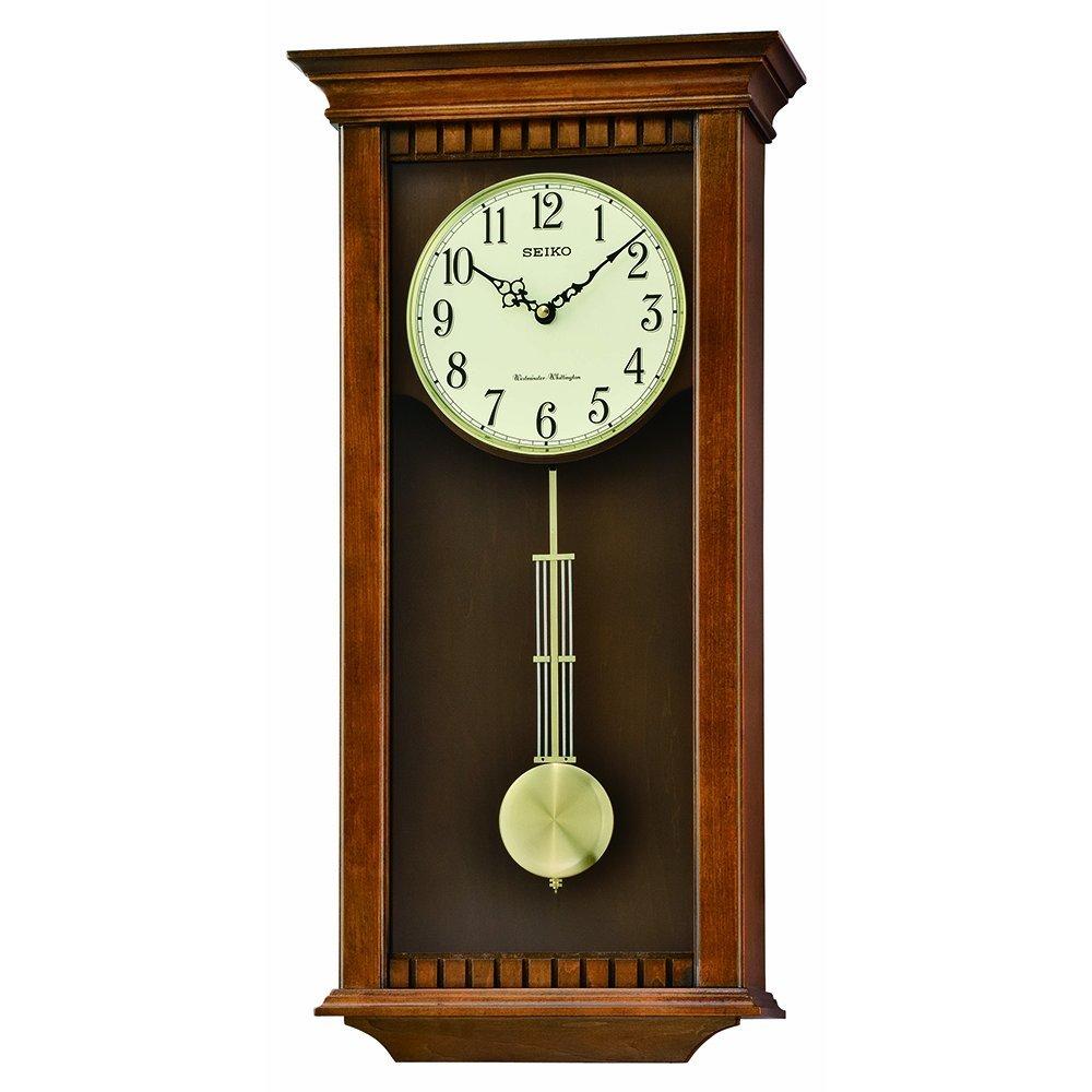 Seiko QXH064BLH Japanese Quartz Wall Clock