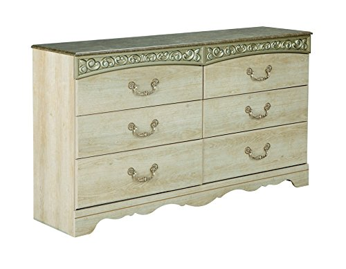 Signature Design by Ashley B196-31 Catalina Collection Dresser, Antique White