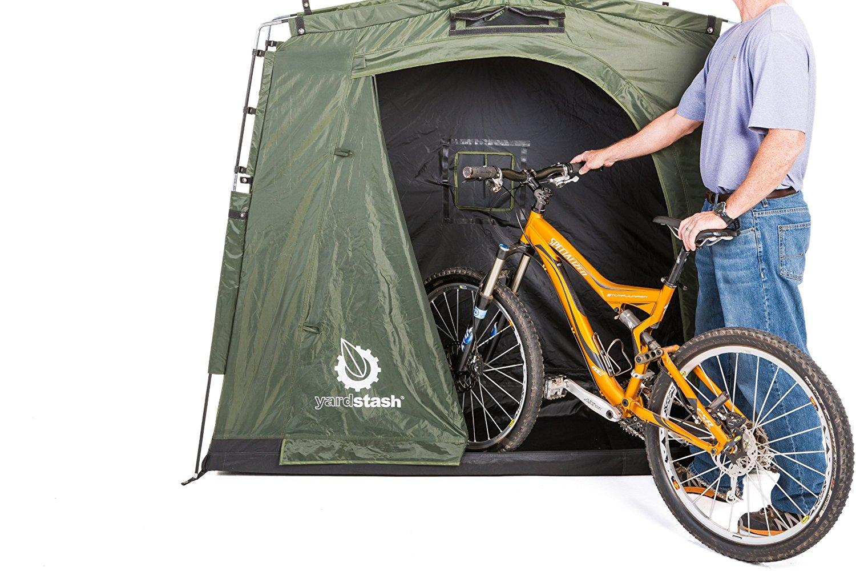 The YardStash III: Space Saving Outdoor Bike Storage, Garden Storage and Pool Storage