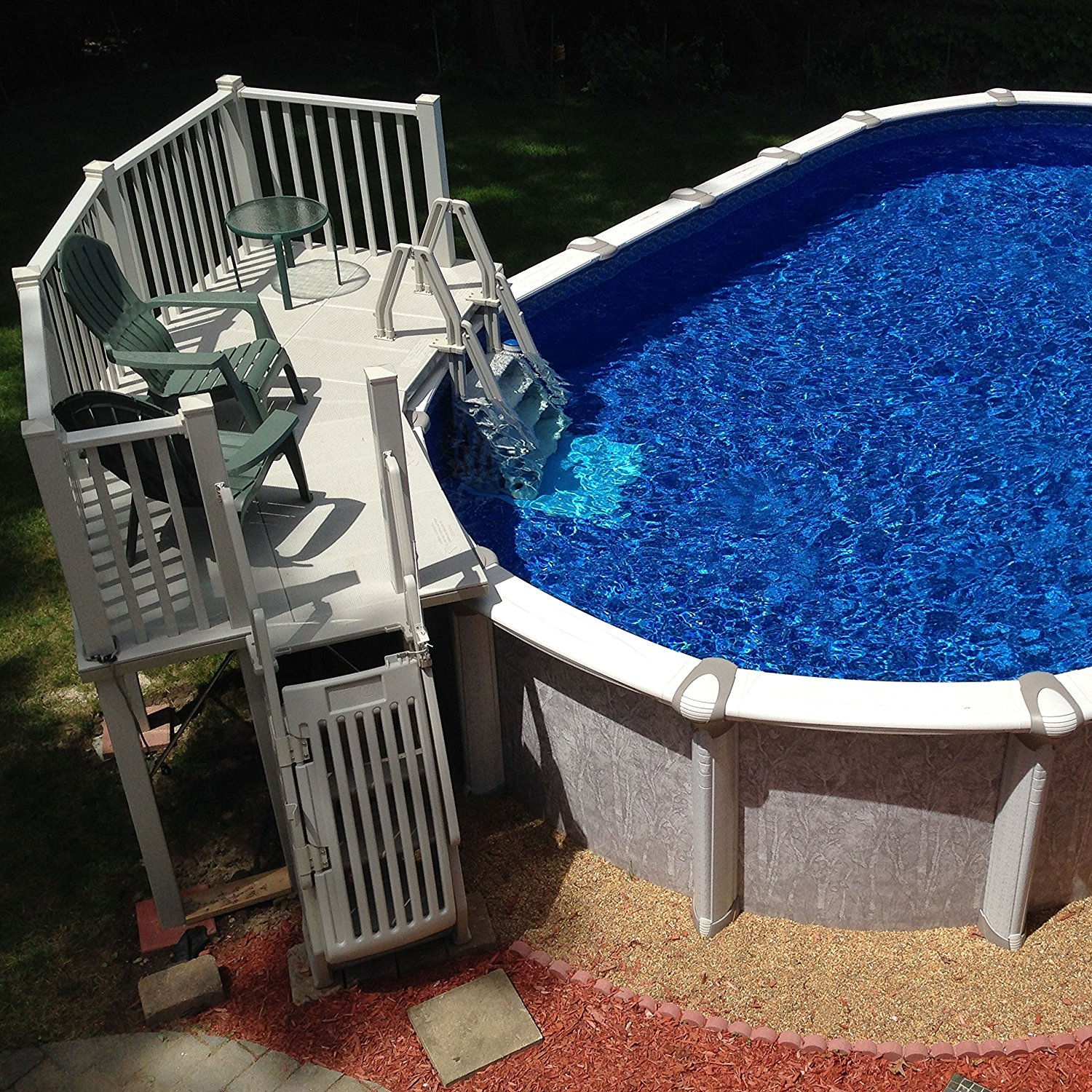 All superiorities of resin swimming pool decks for Resin above ground swimming pools