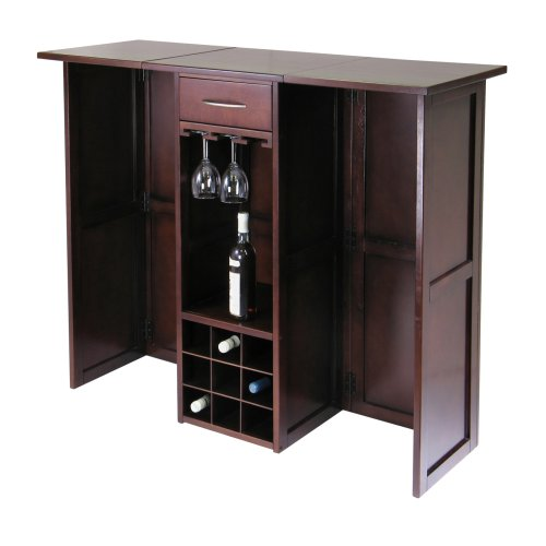 Winsome Newport Expandable Wine Bar