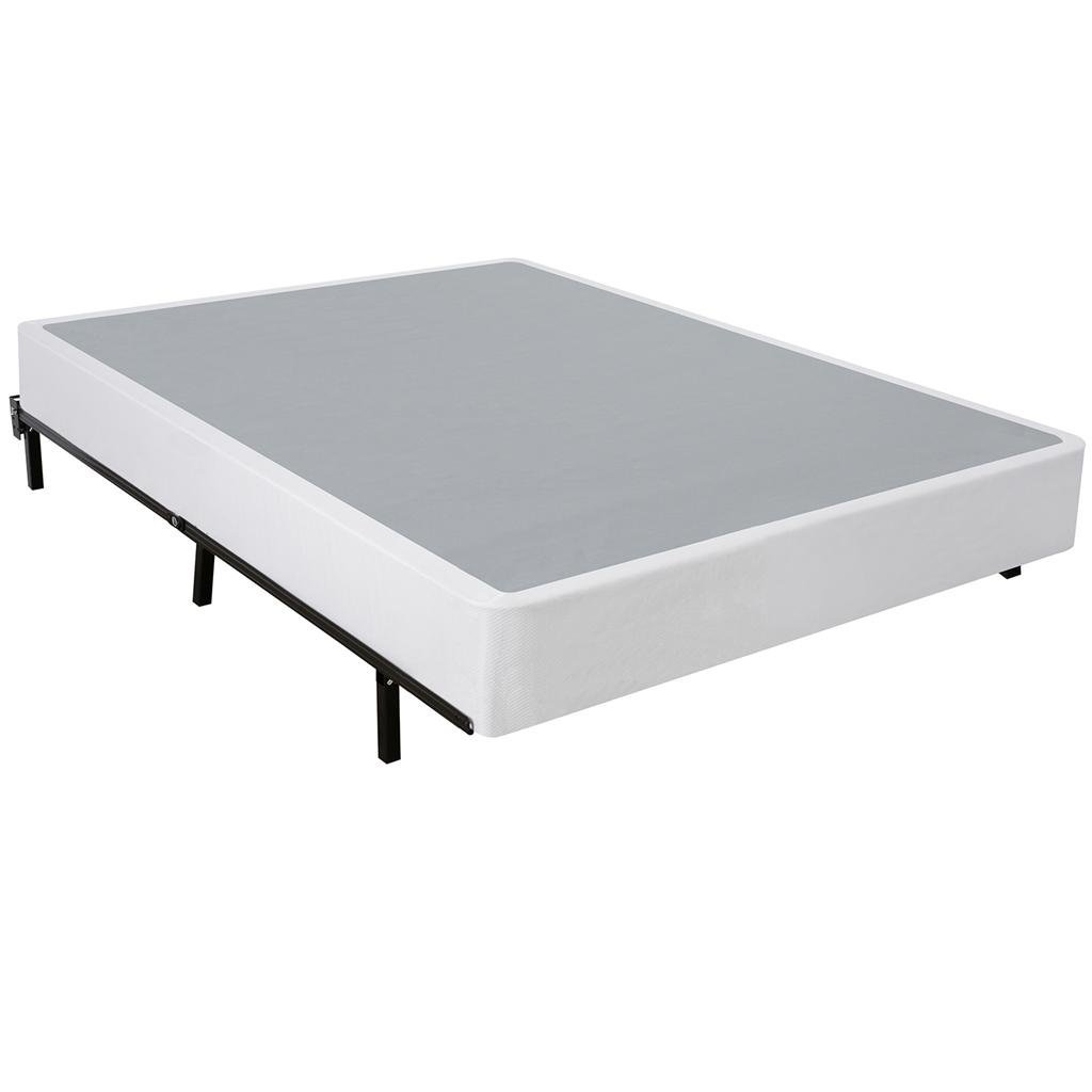 Zinus 9 Inch High Profile Smart Box Spring/Mattress Foundation, Strong Steel structure, Easy assembly required, Cal King