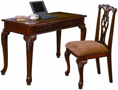 Crown Mark Fairfax Home Office Desk Chair Set
