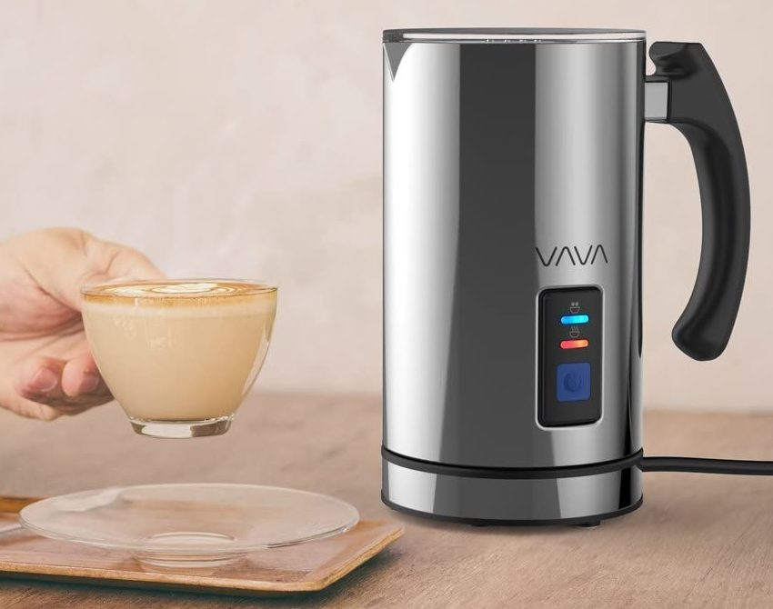 VAVA Electric Milk Steamer Foam Maker