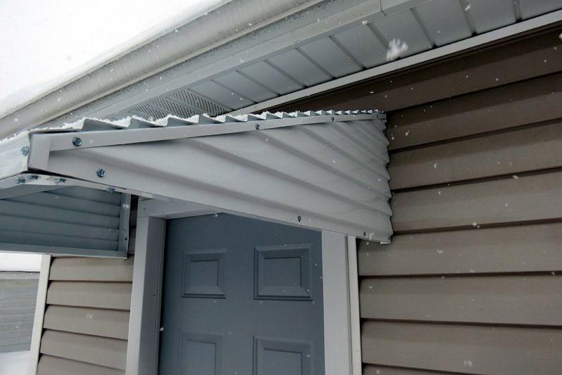 46 X 36 X 15 White Aluminum Awning Windows