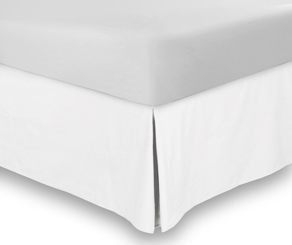 BedSkirts Queen Wrinkle and Fade Resistant by Utopia Bedding