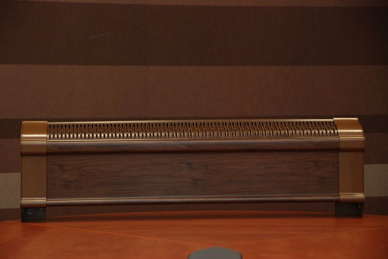 Better Dark Walnut Baseboard Cover