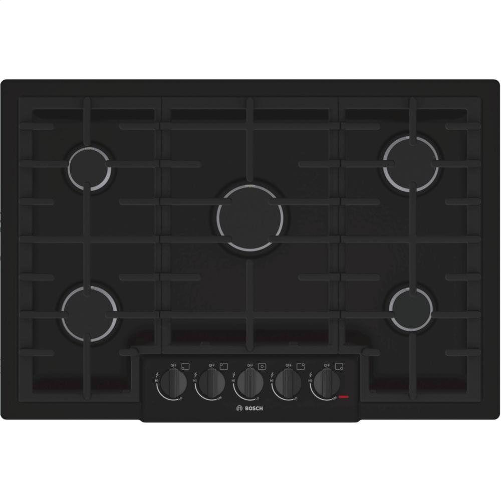 Bosch NGM8065UC 800 30 Black Gas Sealed Burner Cooktop