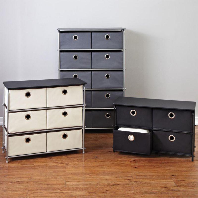 Brylanehome 4-Drawer Storage Wardrobe