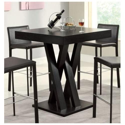 Coaster Bar Height Dining Table-Cappuccino