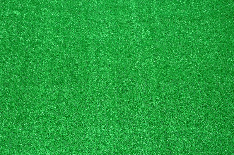 Dean Flooring Carpet Green Artificial Grass Turf Area Rug
