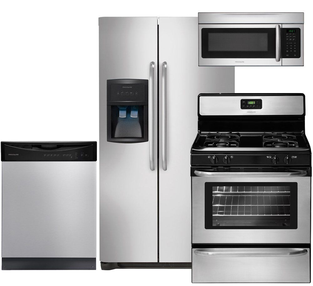 Frigidaire 4-Piece Stainless Steel Kitchen Package