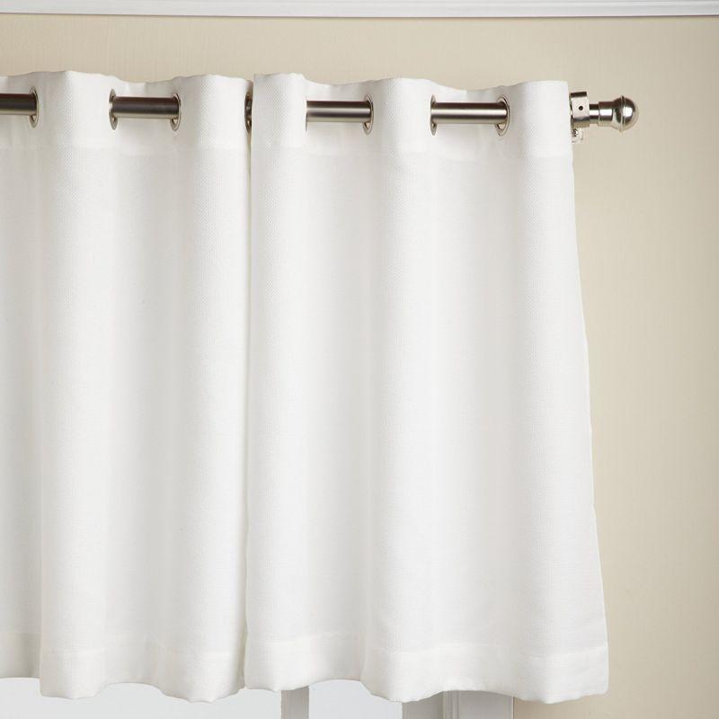 Lorraine Home Fashions Jackson 58-inch x 24-inch Tier Curtain Pair