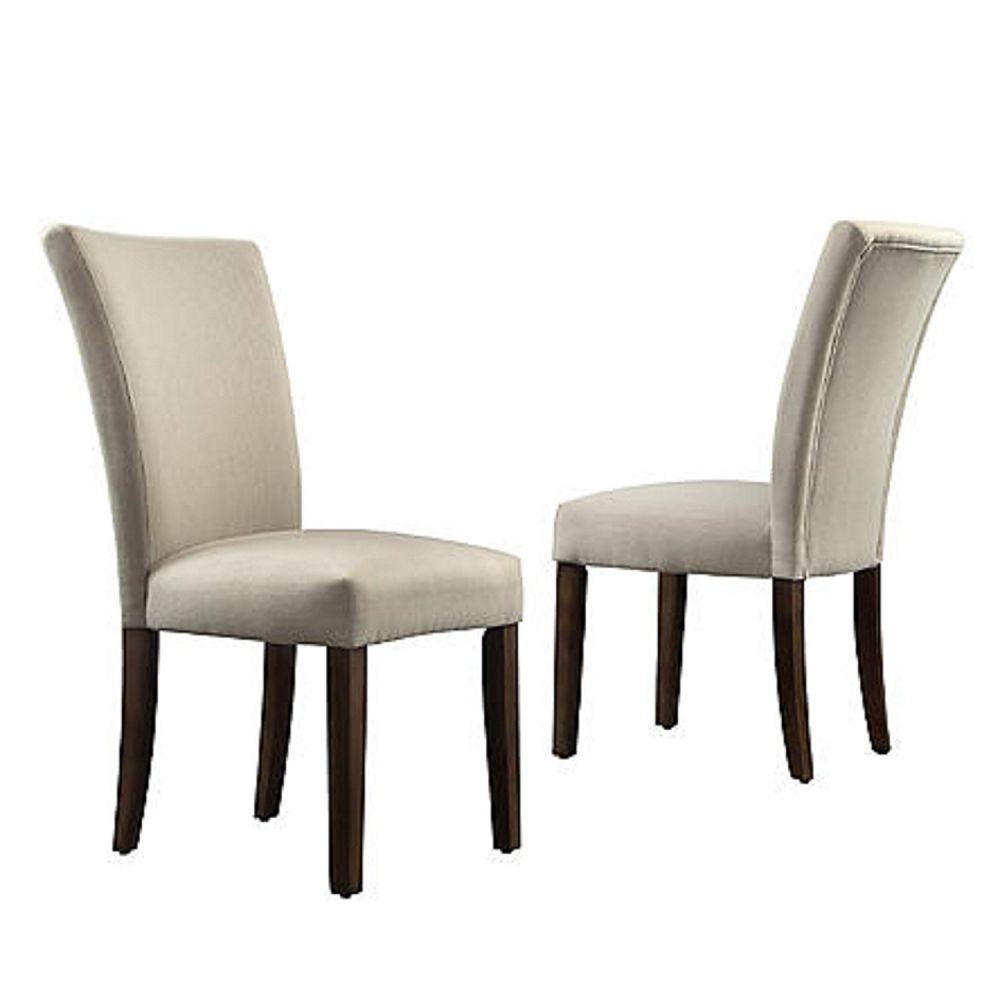 Oxford Creek Melrose Grey Parson Side Chair (Set of 2) Gray