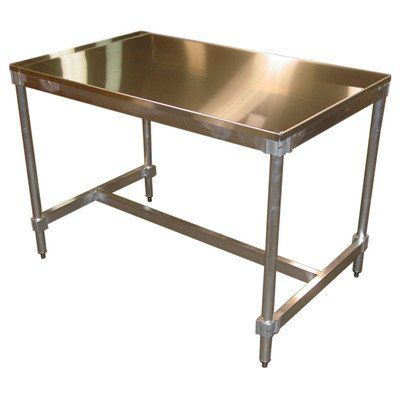 PVIFS AIFT303424-ST Stainless Steel Top I-Frame Work Table