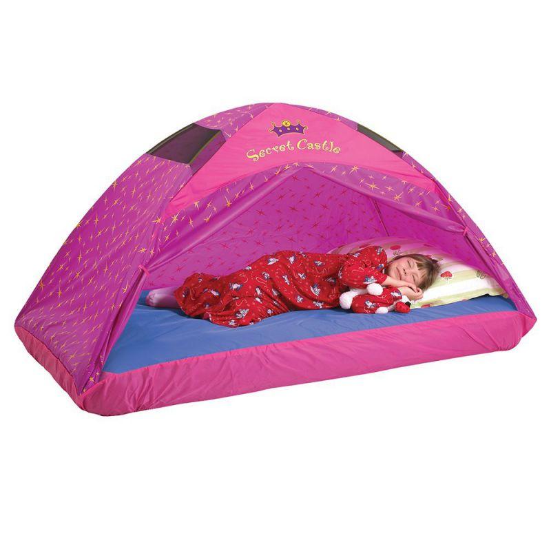 Pacific Play Tents Kids Secret Castle Bed Tent Playhouse