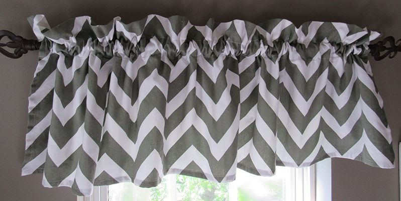 Patterned Window Valance