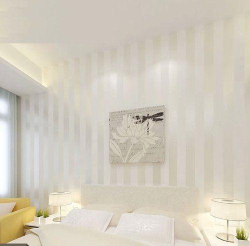 QIHANG European Modern Minimalist Country Luxury Stripe Wallpaper Roll for Living Room