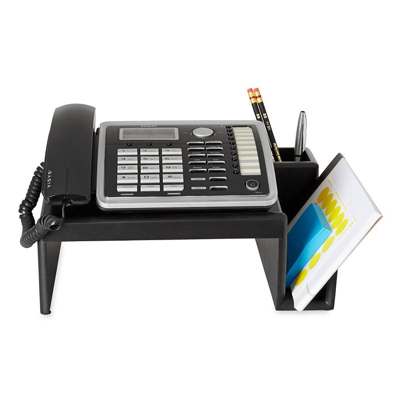 Rolodex Wood Tones Collection Phone Stand 62538