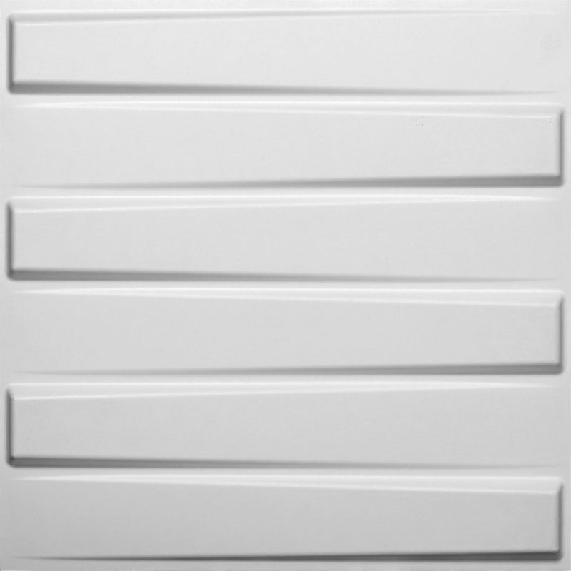 Upscale Designs 02103 27 sq. ft. 3D Glue-On Wainscoting Panels