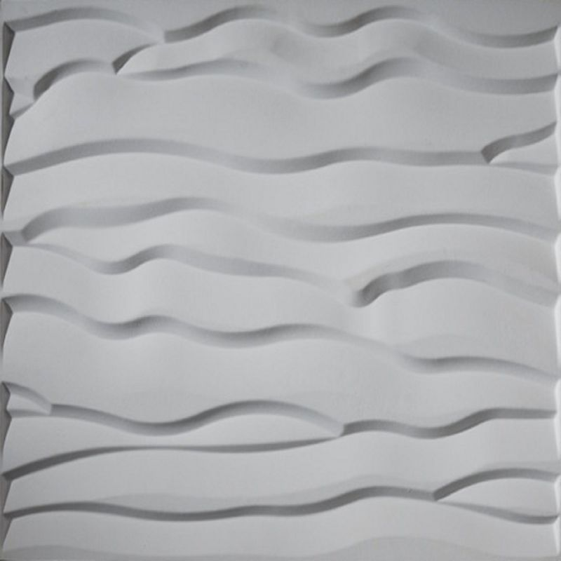Upscale Designs 02116 32 sq. ft. 3D Glue-On Wainscoting Panels