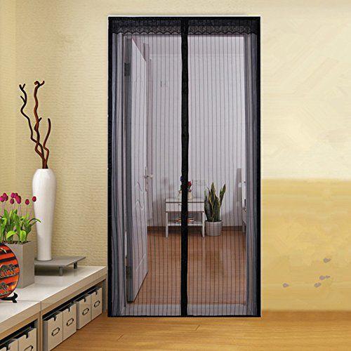 ZYettst 2 Sizes Fits Door Magnetic Screen Door