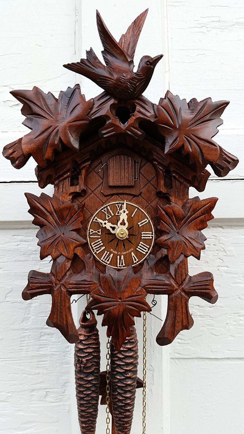 1 Day German Cuckoo Clock 1209
