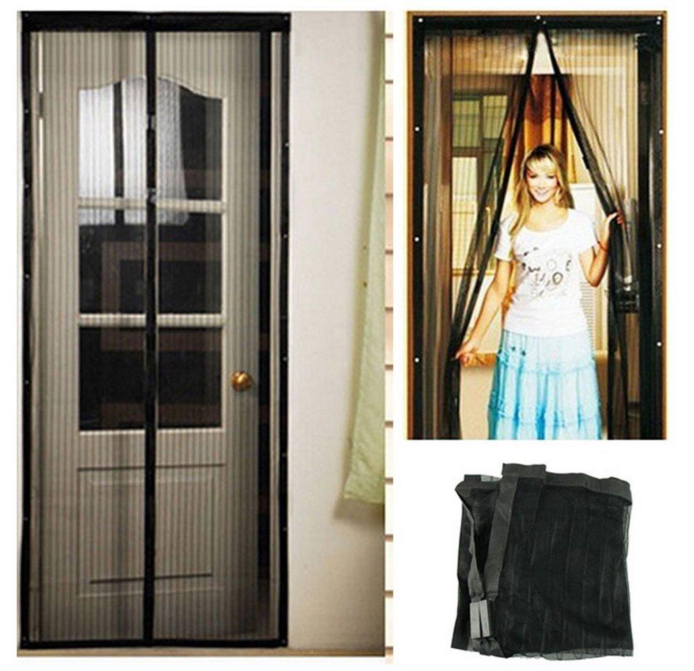 Best Deal Home Magic Screen Door Gate Curtain Mesh Net Magnetic Anti Mosquito Bug 1pcs