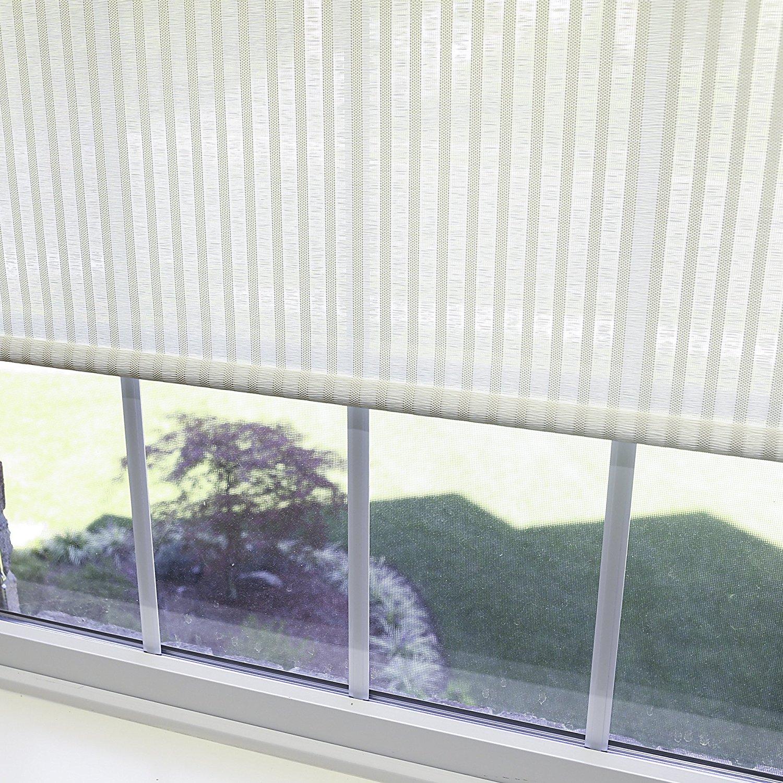 "Best Home Fashion Premium Single Roller Window Shade - Cream - 35""W x 64""L"