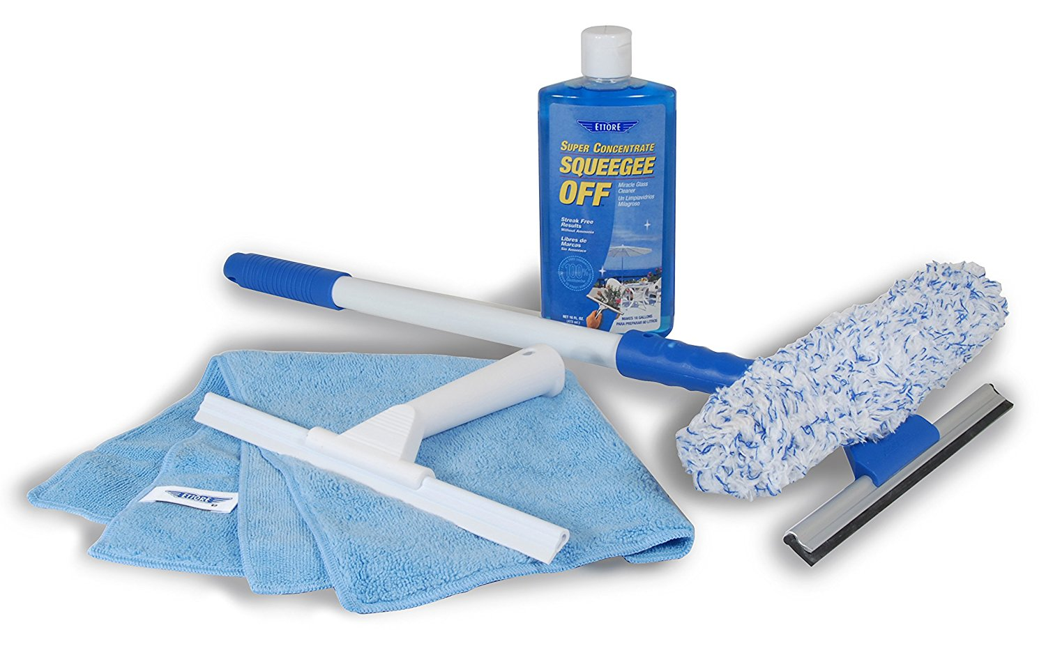 Ettore 2006 Total Glass Care Window Cleaning Kit
