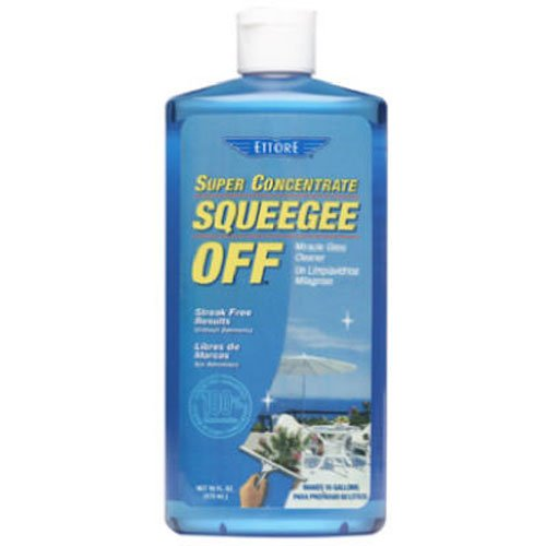 Ettore 30116 Squeegee Off Window Cleaning Soap, 16-Ounce