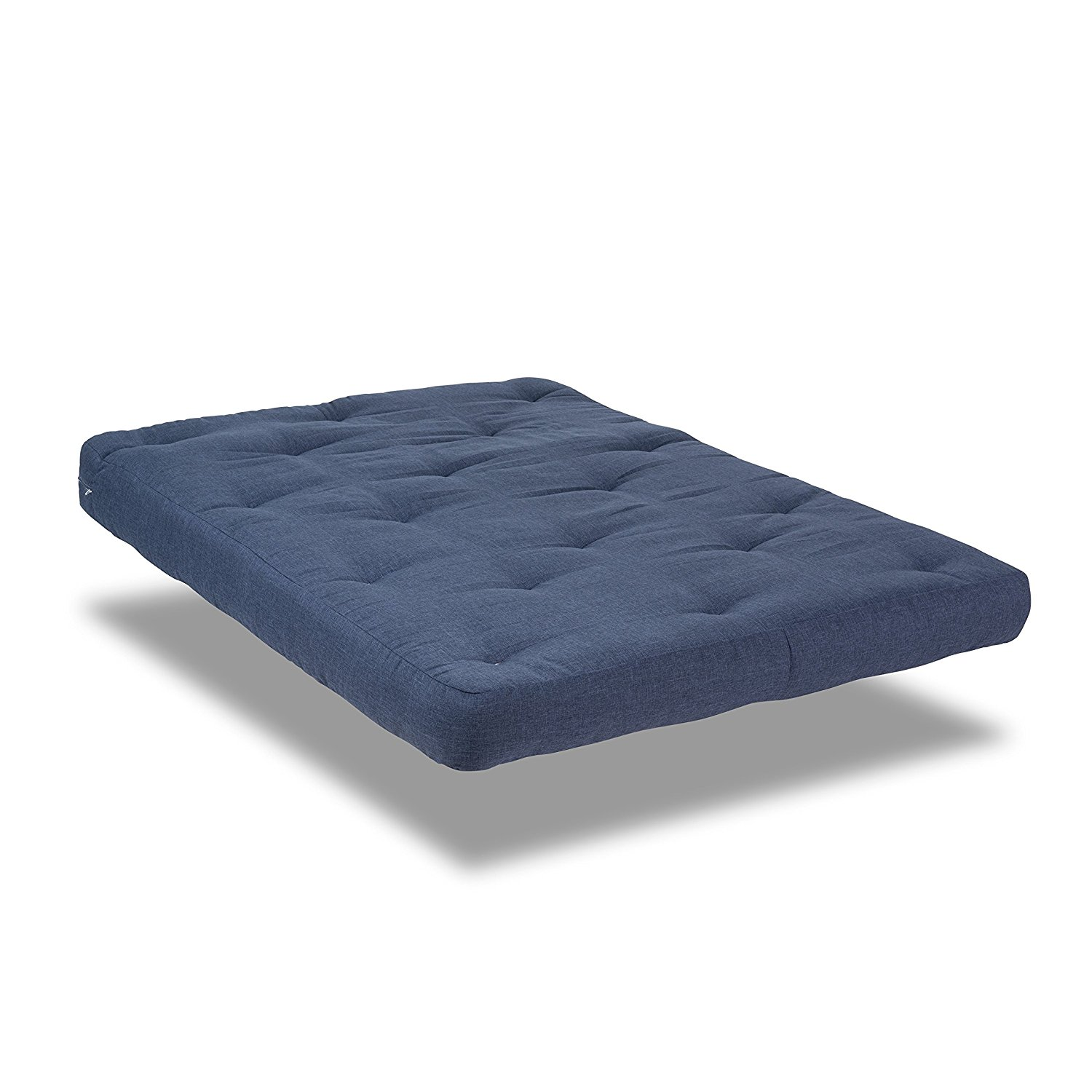 Serta Willow Double Sided Visco, Memory Foam Futon Mattress, Full, Cobalt Blue, Made in the USA