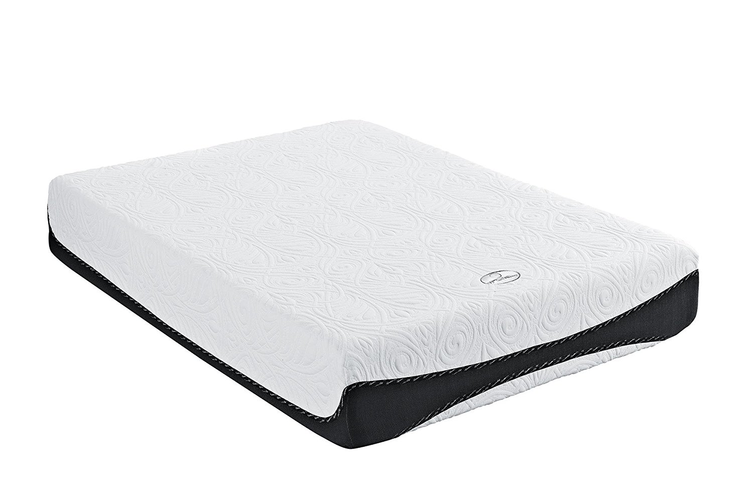 Signature Sleep 12 Inch Gel Memory Foam Mattress, Aura Luxury Firm Queen Mattress