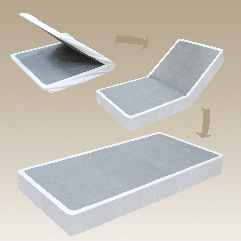 Sleep Master 10-Inch Pressure Relief Memory Foam Mattress Set with Bi-Fold Boxspring, Full