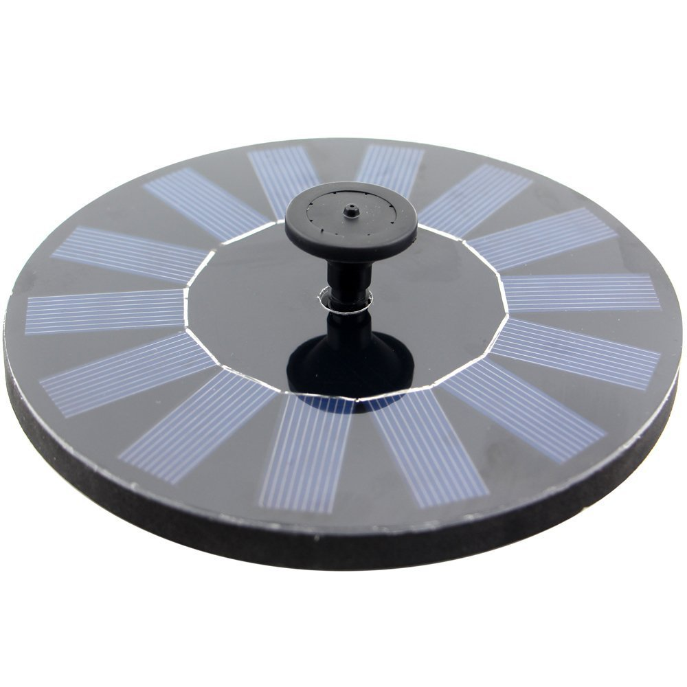 Solar Powered Panel Kit Water Pump for Garden Pond Fountain Pool,Bird Bath Foutain Pump,Outer Watering Submersible Pump