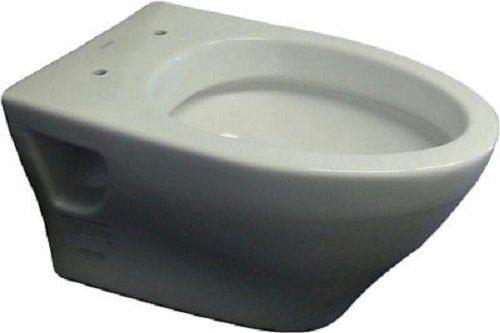 Toto CT418FGNo.01 Aquia Wall-Hung Dual-Flush Toilet, 1.6-GPF and 0.9-GPF Cotton
