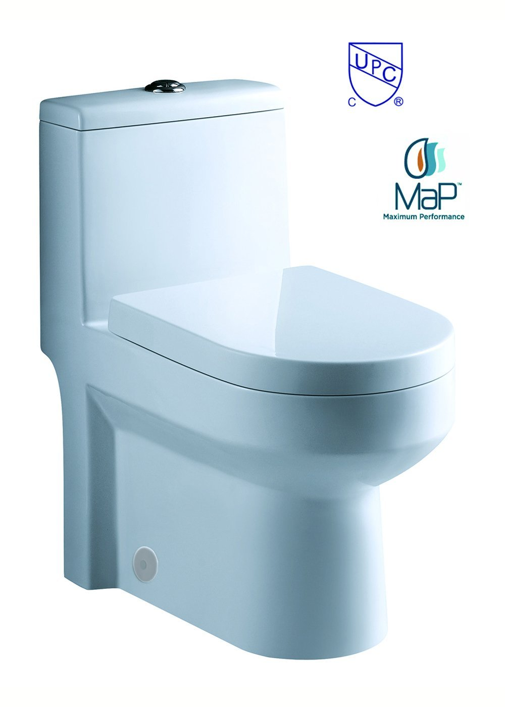 "toilet GALBA 24.5"" 24"" 25"" Inch SMALL TOILET One Piece 24 25 Cupc UPC Short Compact Bathroom Tiny Mini Commode Water Closet Dual Flush Short Projection Shortest Adult cUPC UPC elongated"