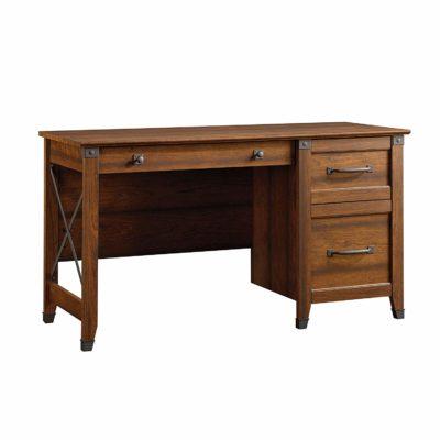 Sauder 412920 Carson Forge Desk, Washington Cherry