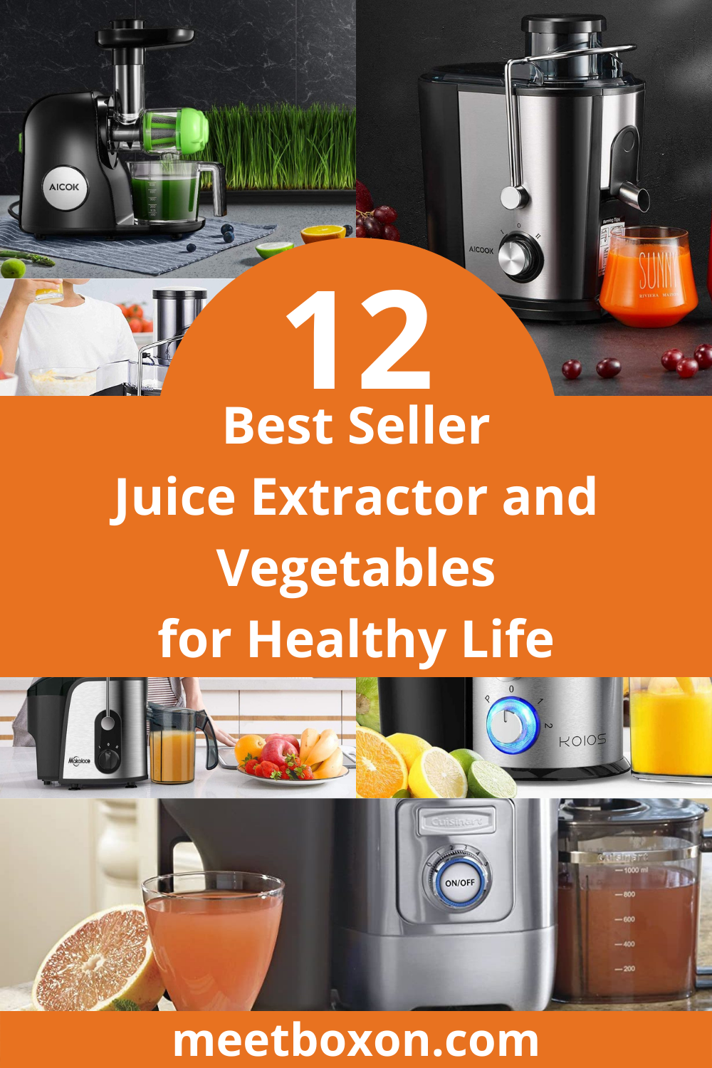 12 Best Seller Juice Extractor and Vegetables for Healthy Life