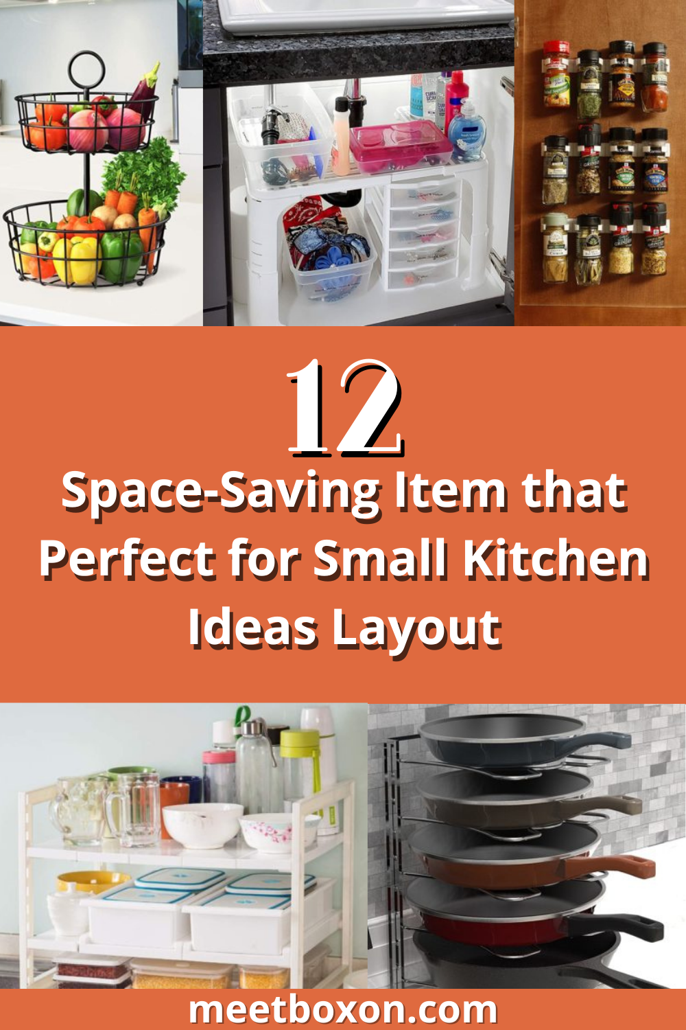 12 Space-Saving Item that Perfect for Small Kitchen Ideas Layout