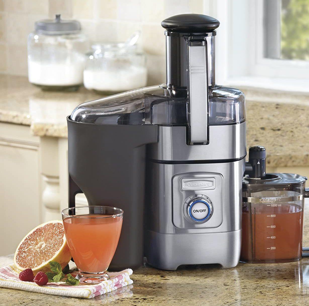 Cuisinart CJE-1000 Silver Die-Cast Juice Extractor
