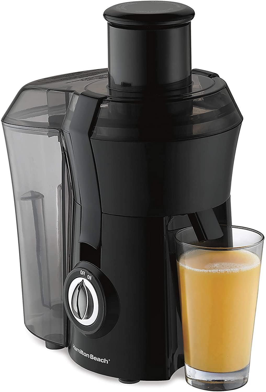 Hamilton Beach 67601A Black 800W Juicer Machine (BPA-Free)