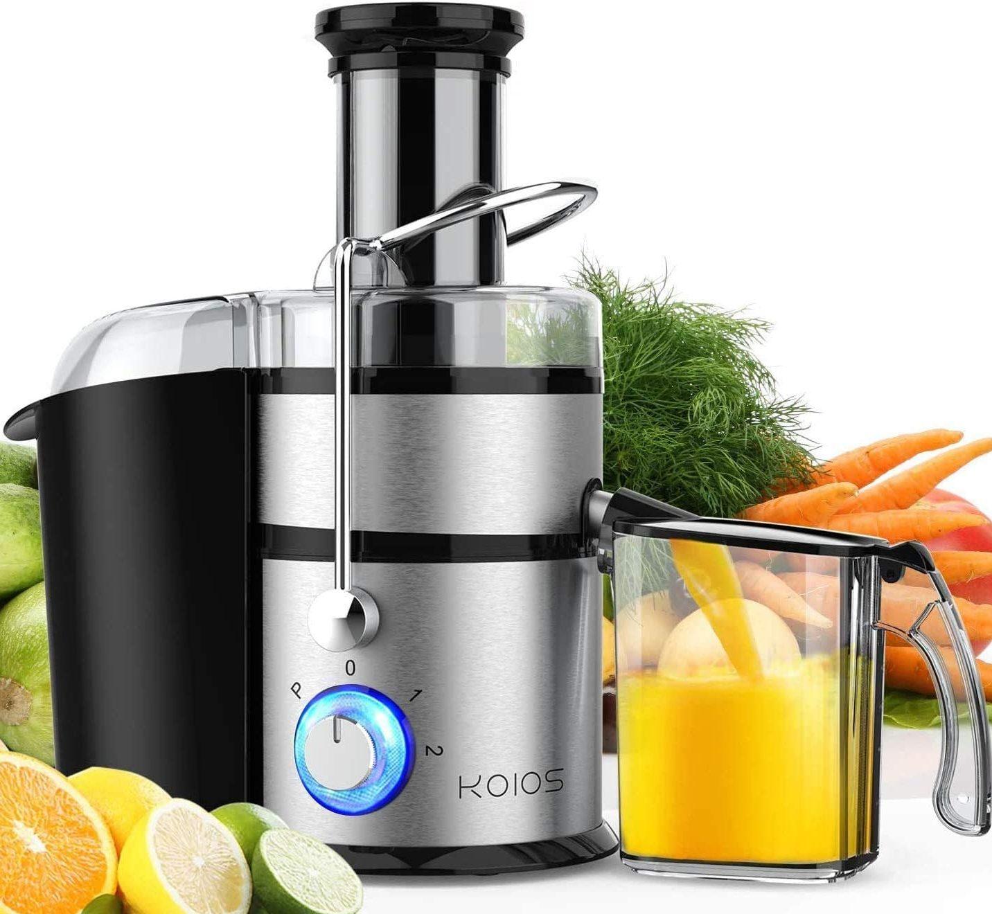 KOIOS Centrifugal Juicer Machines (100% BPA-Free, 1200W)
