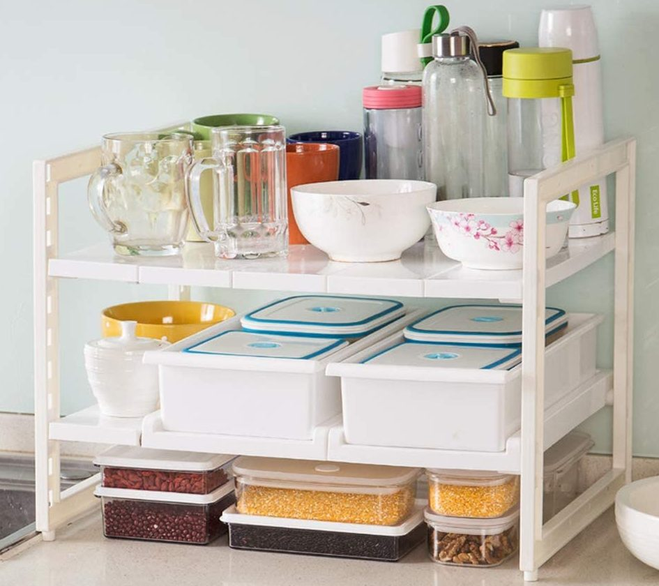OBOR Expandable Under Sink Organizer for small kitchen ideas
