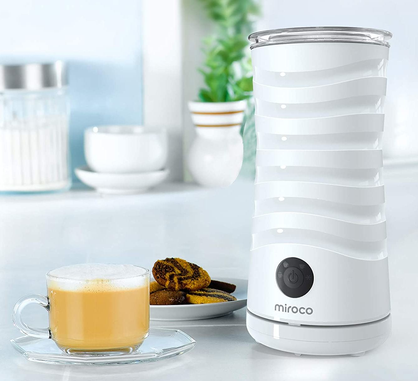 Frother Miroco Electric Milk Steamer